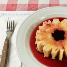 Pineapple with Port Wine
